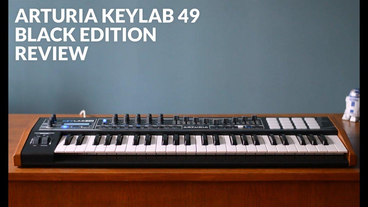 Arturia KeyLab 49 Black Edition Keyboard Controller Driver PC