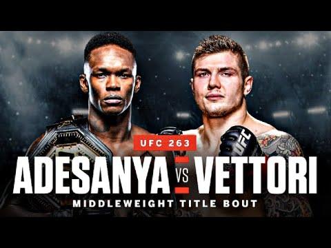 """UFC 263: Adesanya vs Vettori 2 PROMO """"Second Chance"""""""