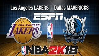 NBA 2K18 (PC) RETRO ESPN SCOREBOARD TEST