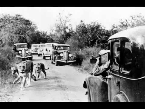 Kruger National Park - History - A Brief Look into the Park in Black & White