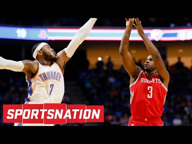 Would Carmelo Anthony save the Rockets' offseason? | SportsNation | ESPN