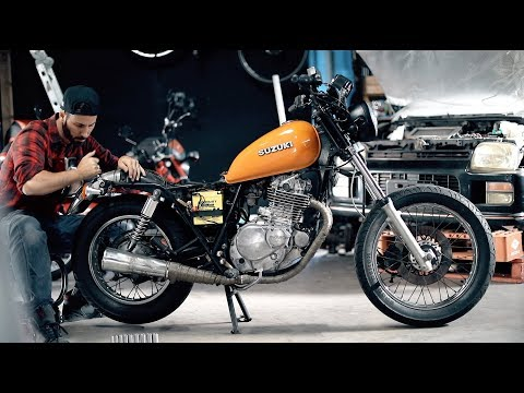The First Ride | Motorcycle Make Over
