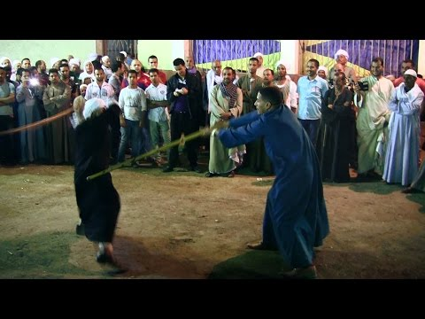 Tahtib, a stick fighting sport from Upper Egypt