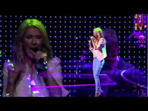 Celine Dion live at the Walmart Show (01-06-2012)