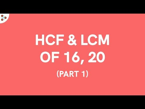 find the lcm and the hcf On the other hand, least common multiple (lcm) is the smallest common multiple of the whole numbers both hcf and lcm carry a great significance in mathematics, physics writing a program to find the hcf and lcm of two whole numbers is a popular tutorial/question in c programing language.