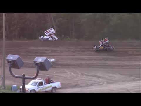 Butler Motor Speedway Sprint Feature 9/2/17