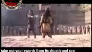 Imam Ali against Marhab in Khyber Battle