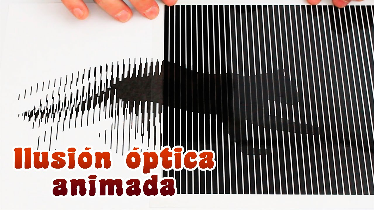 Imprime tu ilusi n ptica animada super f cil youtube - Ilusiones opticas para imprimir ...