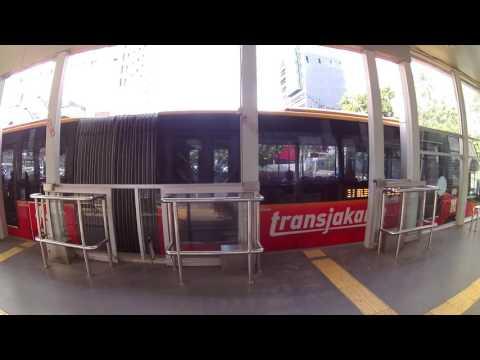 Busmania, Transjakarta  Busway Koridor 1 Blok M - Kota berhenti di Halte Sarinah Mp3