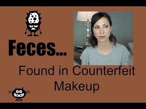 Feces/POOP Found In Counterfeit Makeup!?!? | Dr. Dani Fisher