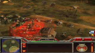 Command & Conquer Shockwave Mod: Infantry General vs Armor General vs Salvage General