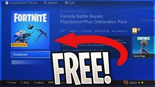 *NEW* How to Get FREE PLAYSTATION SKIN PACK (Fortnite: Battle Royale Free Skins Pack)