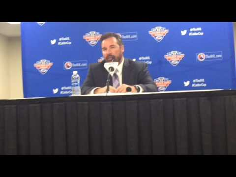 Todd Nelson talks about winning Game 1