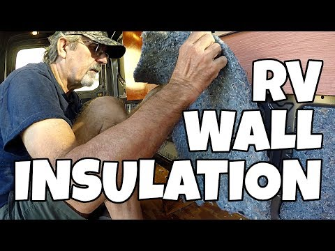 Poly-Iso & Denim Insulation In A RV