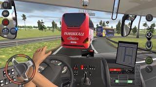The Long Way Adventure !!! Bus Simulator : Ultimate Multiplayer! Bus Wheels Games Android screenshot 4