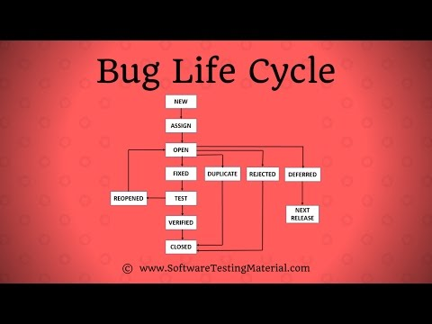 Bug Life Cycle / Defect Life Cycle In Software Testing