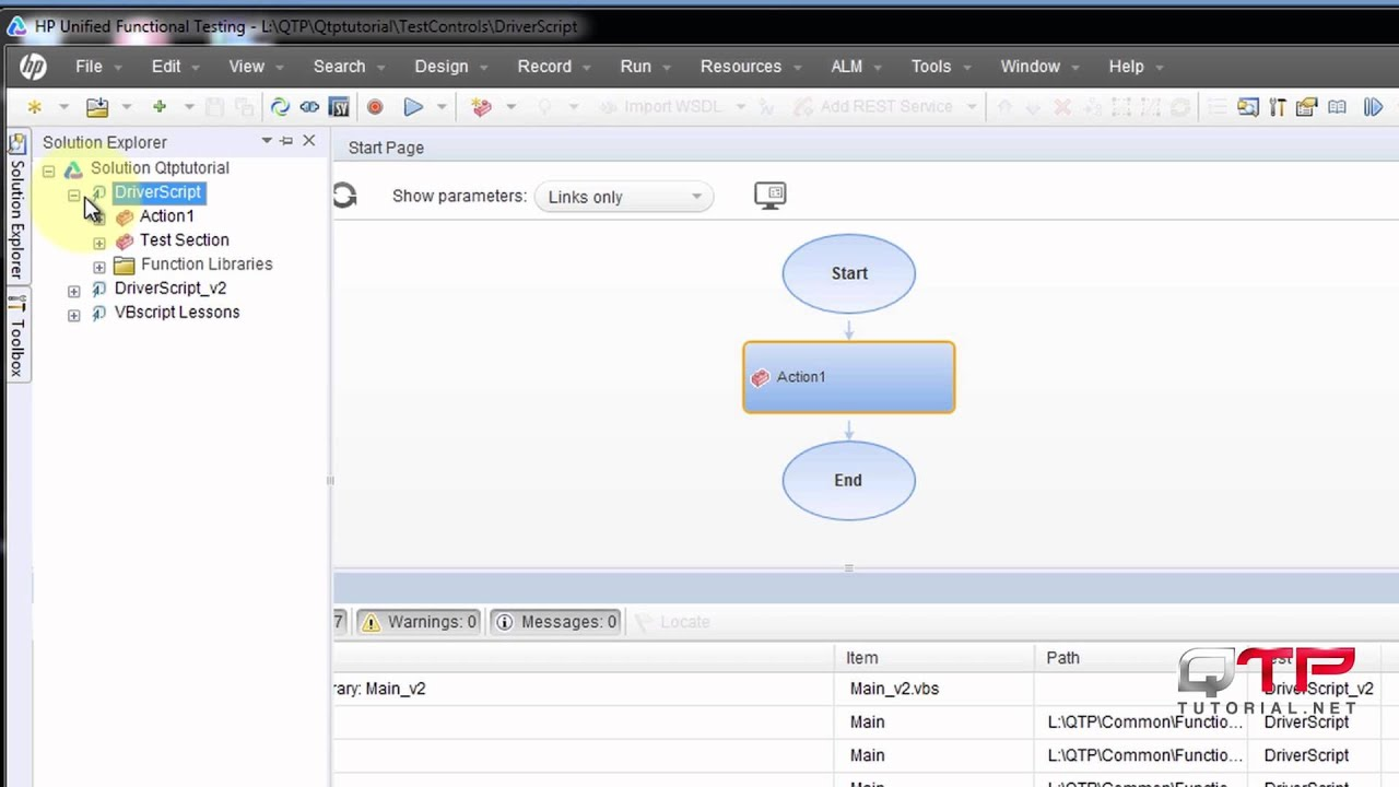 QTP tutorial-1 63-Getting started with UFT- Opening the solution and adding  a new GUI Test