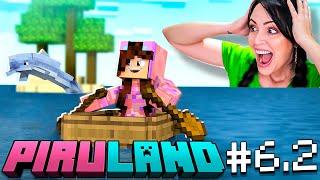 EL DELFIN nos LLEVA a NUEVOS TESOROS! 😱 PIRULAND 6.2 Minecraft 🔥 Sandra Cires Play