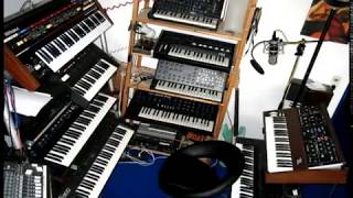 OXYGENE 4 (EXTENDED VERSION) cover played on vintage synthesizers - music by Jean-Michel Jarre