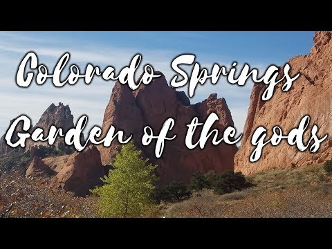 Visiting the Garden Of The Gods - Colorado Springs