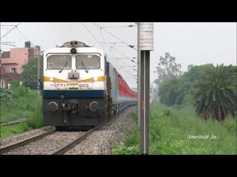 First run with LHB Coaches    22452Chandigarh- Mumbai Bandra Terminus Superfast Express:!!