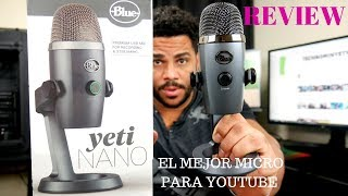 Blue Yeti Nano Review Español