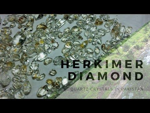 Diamond Quartz Crystals Exploration in Swat, Pakistan