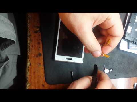 LG P700 Optimus L7 замена модуля зарядки
