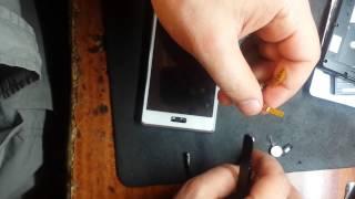 видео Ремонт LG K7 X210: замена стекла экрана, дисплея, аккумулятора, разъема USB гнезда зарядки