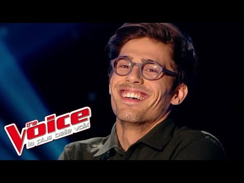 Oasis – Wonderwall   Quentin Bruno   The Voice France 2015   Blind Audition indir