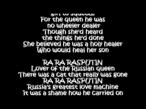 Boney M. - Rasputin Lyrics | Musixmatch