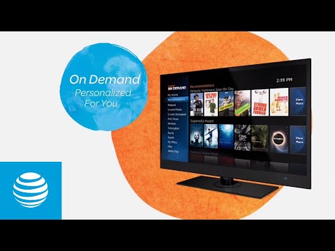 Welcome to the new AT&T U-verse Channel