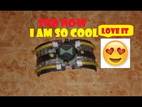 """Omni enhanced Omnitrix"" (How to make paper ben 10 Omni Enhanced Omnitrix easy)"