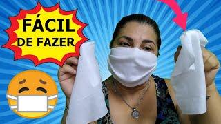 Urgente Faça Sua Mascara Com Lenço Umedecido – Proteção Imediata