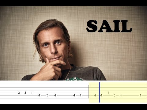 Awolnation - Sail (Easy Guitar Tabs Tutorial)