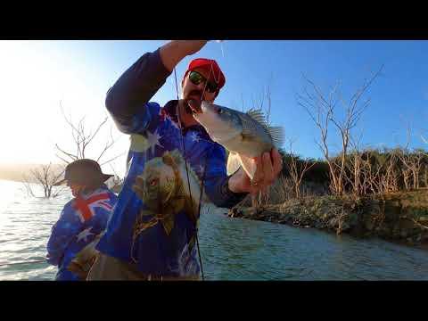 Chasing Australian Bass, A Day On Lake Glenbawn