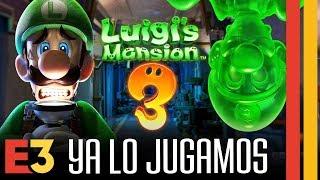 Luigi's Mansion 3: ¡Ya lo jugamos!