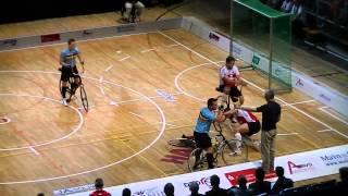 Radball WM 2012 Vorrunde Schweiz - Belgien 2 HZ 3 0 SUI - BEL