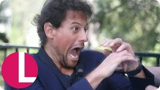 Ross King Scares The Life Out Of Ioan Gruffudd   Lorraine