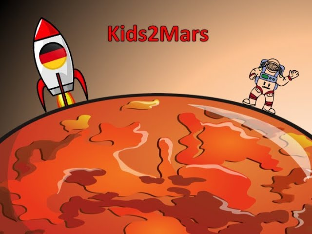 ENG Kids2Mars | Germany - I would like to know why Mars is orange?