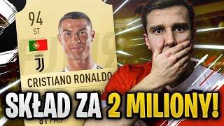 FIFA 19 l BUDOWANIE SKŁADU Z CR7 za 2 MILIONY + INWESTYCJE!