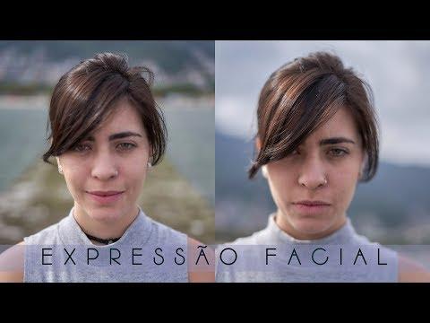 GUIA DE POSES. Como tirar Expressões Faciais da sua Modelo