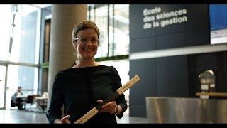 Valérie Michaud, lauréate du prix de la relève professorale en recherche 2018 de l'ESG UQAM