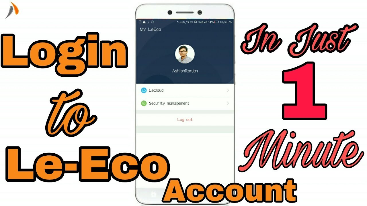 How to Login in your Le-Eco cloud ?? Very Easy Steps - get to know it 😎😎