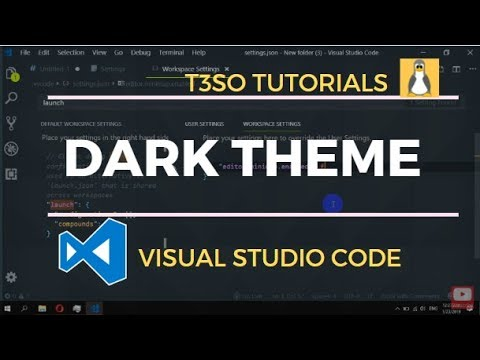 How to edit default dark theme for Visual Studio Code