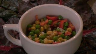 Corn, Peas And Peppers Salad : Pea Salads