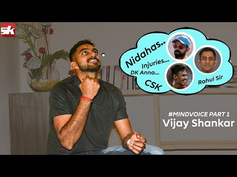 #MindVoice with allrounder Vijay Shankar | Indian cricket | Vijay Shankar | IPL 2019 | Cricket news