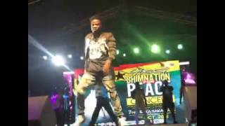 Fancy Gadam Performing At Stonebwoy's Bhimnation4peace Concert   2016