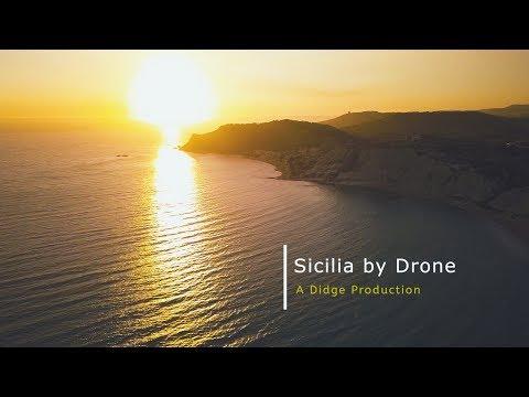 Sicilia by Drone - La Sicile et les îles Éoliennes  [Full version - 2017]