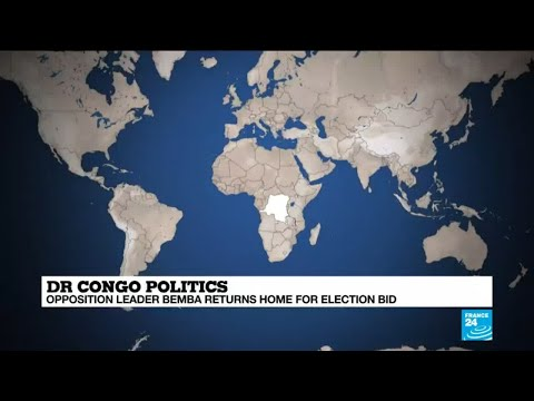 DR Congo's Bemba returns home for election bid